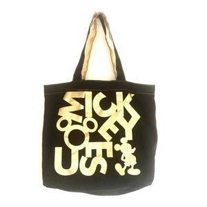 Disney Mickey Mouse Glitter Lame Tote